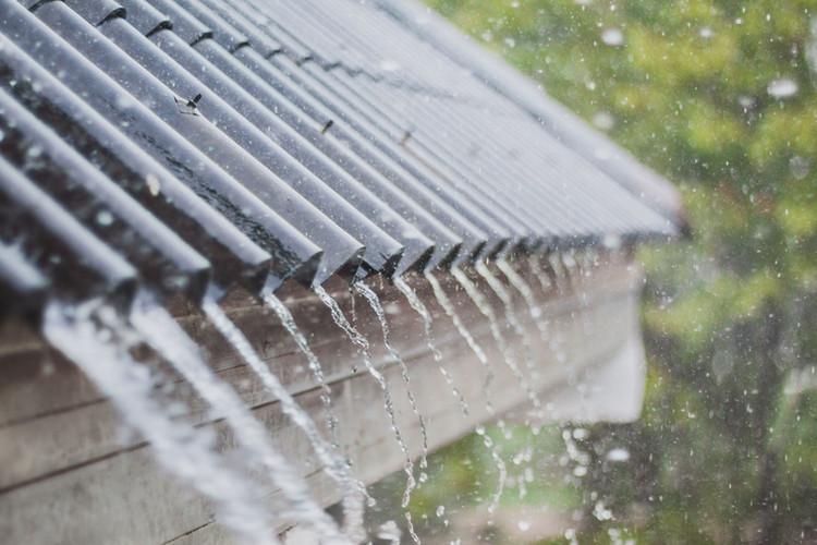 Regn på taket