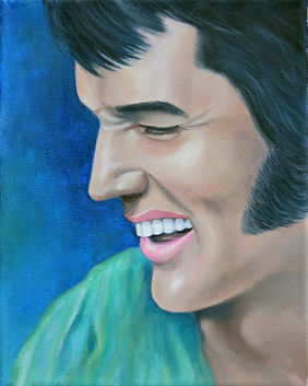Elvis 1970 Green Shirt painting.jpg