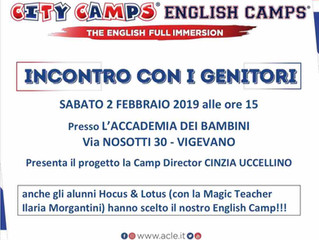 Presentazione City Camps A.C.L.E. estate 2019 a Vigevano