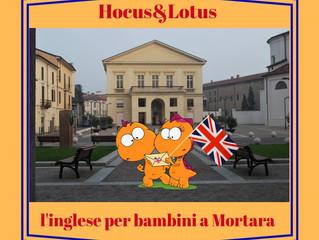 Hocus & Lotus - Partono i corsi extrascolastici a Mortara