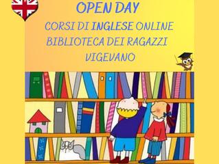 OPEN DAY ONLINE - BIBLIOTECA DEI RAGAZZI