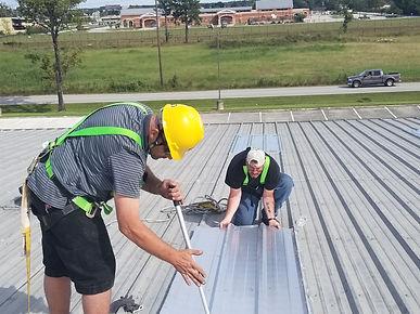 r panel roofing repair