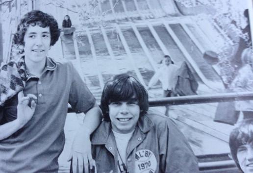 Michael Gulezian & Ralphie Smith Holy Cross Abbey, Cañon City, CO 1974