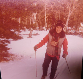 Cross Country skiing 1976-Rainbow Trail, Westcliffe CO