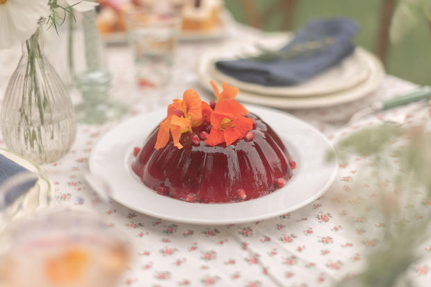 Hibiscus + Lime Jelly