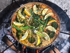 Fire pit Paella