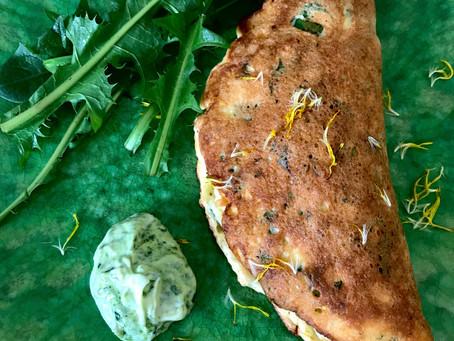 Dandelion Omelette Souffle