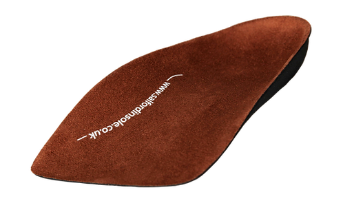 SI™ ¾ SLIM FIT EVA Insoles for Achilles Tendonitis (Incl. Heel Raises)