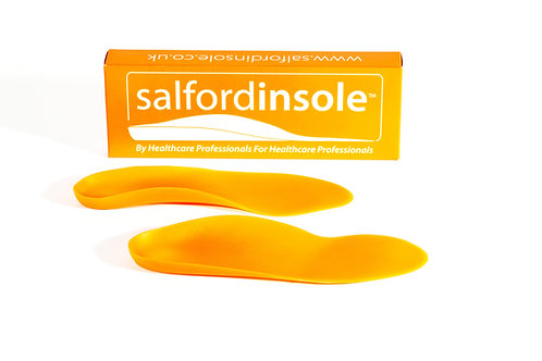 Salfordinsole Orange FLEX Insoles WITH 6mm Heel Raise