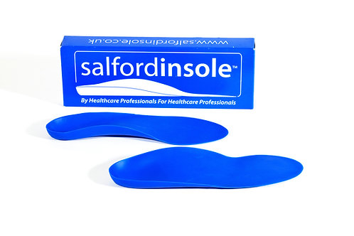 Salfordinsole Pro-FIRM Blue Insoles for Runner's Knee