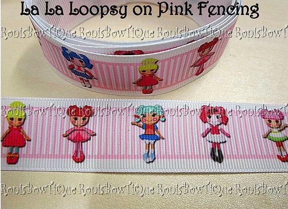LA LA LOOPSY PINK STRIPES