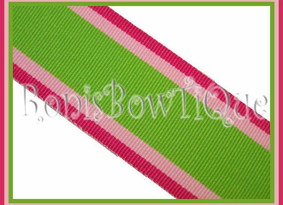 """3/8"""" Hot Trax Stripe Ribbon - 1 YARD"""
