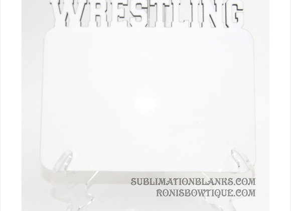 WRESTLING SPORTS SUBLIMATION BLANK MDF PHOTO BOARD PHOTO PANEL PICTURE