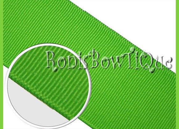 Green Flash Solid Grosgrain Ribbon