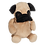 Thumbnail: EMBROIDER BUDDY Parker Pug Buddy Personalized Gift Stuffed Animal