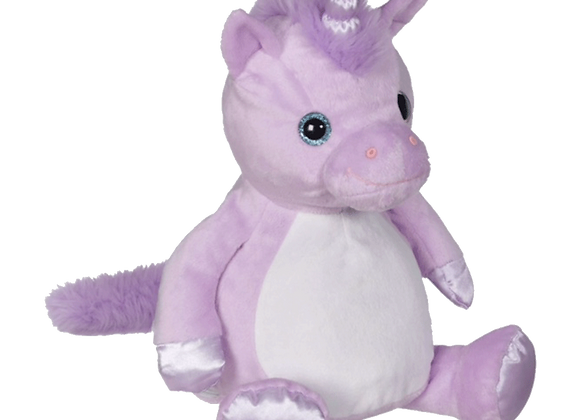 EMBROIDER BUDDY Violette Unicorn Buddy Personalized Gift Stuffed Animal