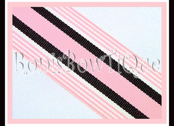 Baby Girl Stripe Ribbon