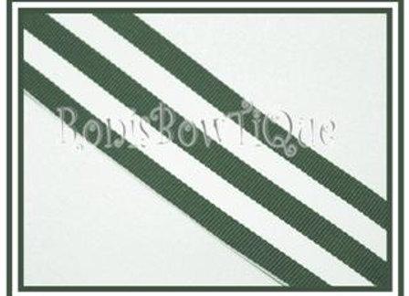 Hunter Green Stripe Ribbon