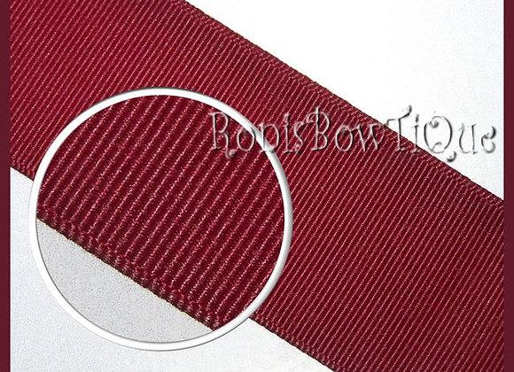 Maroon Solid Grosgrain Ribbon