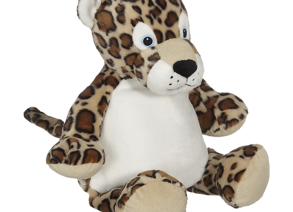 EMBROIDER BUDDY LeRoy Leopard Buddy Personalized Gift