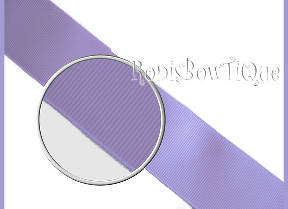 Lt Orchid Purple Solid Grosgrain Ribbon