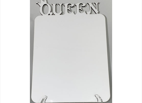 QUEEN TIARA CROWN SUBLIMATION BLANK MDF PHOTO BOARD PHOTO PANEL PICTURE FRAME
