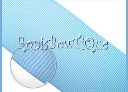 Blue Topaz (Baby Blue) Solid Ribbon
