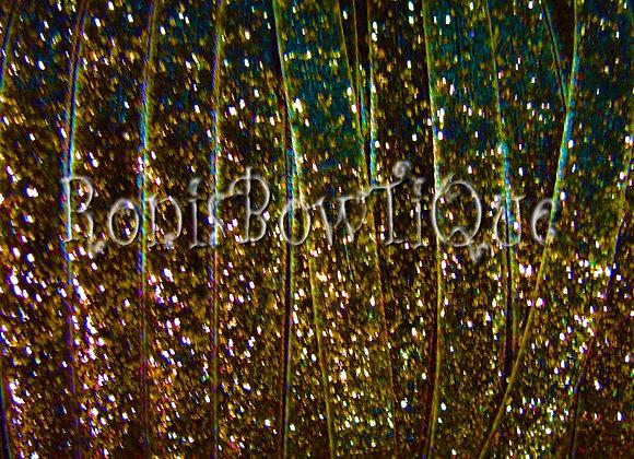Brown Glitter Ribbon