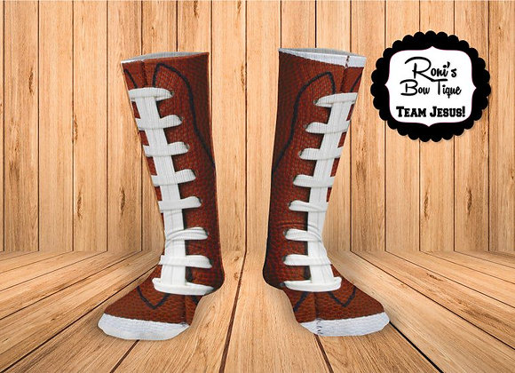 Football Seam Football Laces -Printed Socks Perfect Gift for him