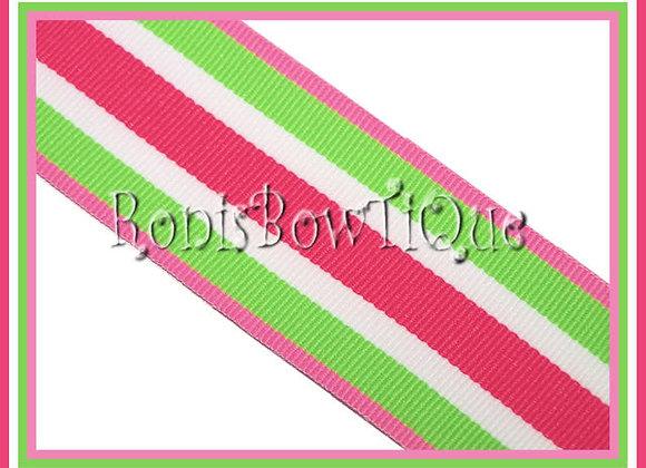 Sherbert Swirl Stripe Ribbon
