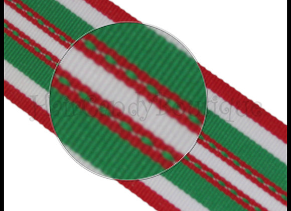 Holiday Super Hot Trax Stripe Ribbon