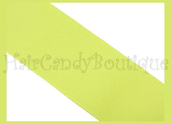 Baby Maize Solid Grosgrain Ribbon