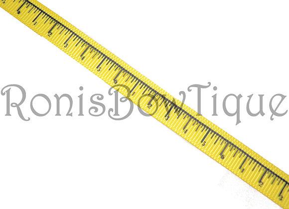 "3/8"" RULER MEASURING TAPE RIBBON"