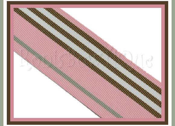 Madison Blvd Stripe Ribbon