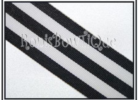 Black Stripe Ribbon
