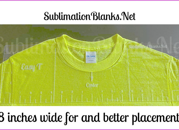 Acrylic Tshirt Alignment Ruler Placement Guide