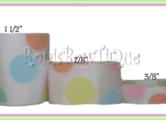 Easter Pastel Candy Dot