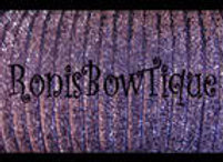 Light Purple Glitter Ribbon