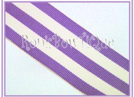 Lt Purple Stripe Ribbon