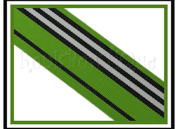 Lucy Blvd Stripe Ribbon