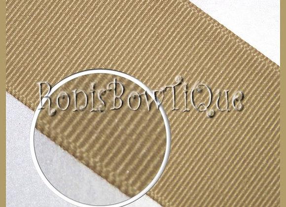 Latte (New Orleans Saints Gold) Solid Ribbon