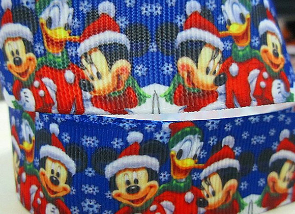 MICKEY MINNIE DONALD DUCK SNOWFLAKE CHRISTMAS