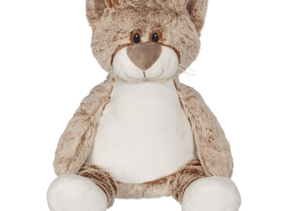 EMBROIDER BUDDY Claire Cat Buddy Personalized Gift Stuffed Animal