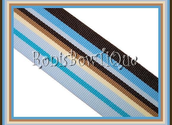 Sand N Sea Stripe Ribbon