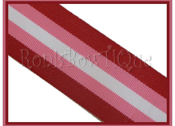 "3/8"" Cinnamon Sweetie Stripe Ribbon - 1 YARD"