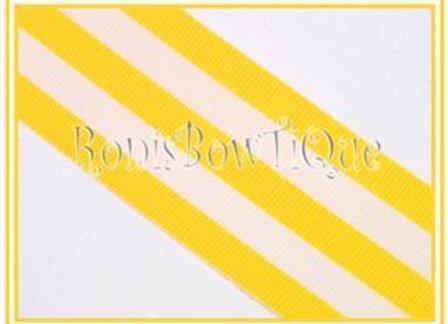 Yellow Stripe Ribbon