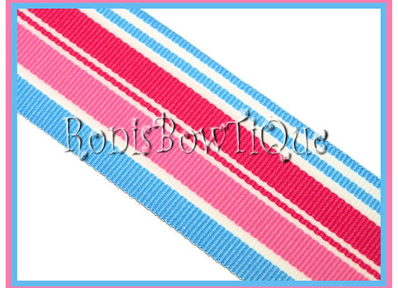 Snow Cone Stripe Ribbon