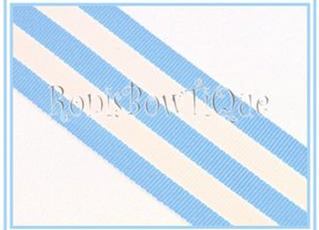 Baby Blue Stripe Ribbon