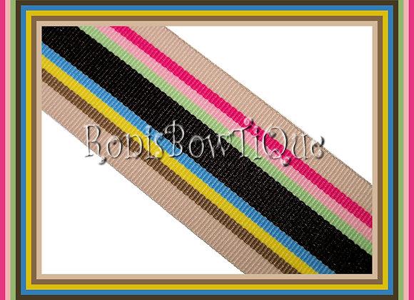 Sandcastle Stripe Ribbon