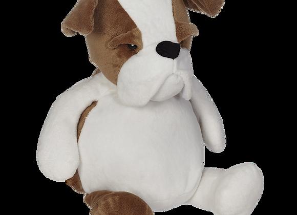 EMBROIDER BUDDY Buster Bulldog Buddy Personalized Gift Stuffed Animal